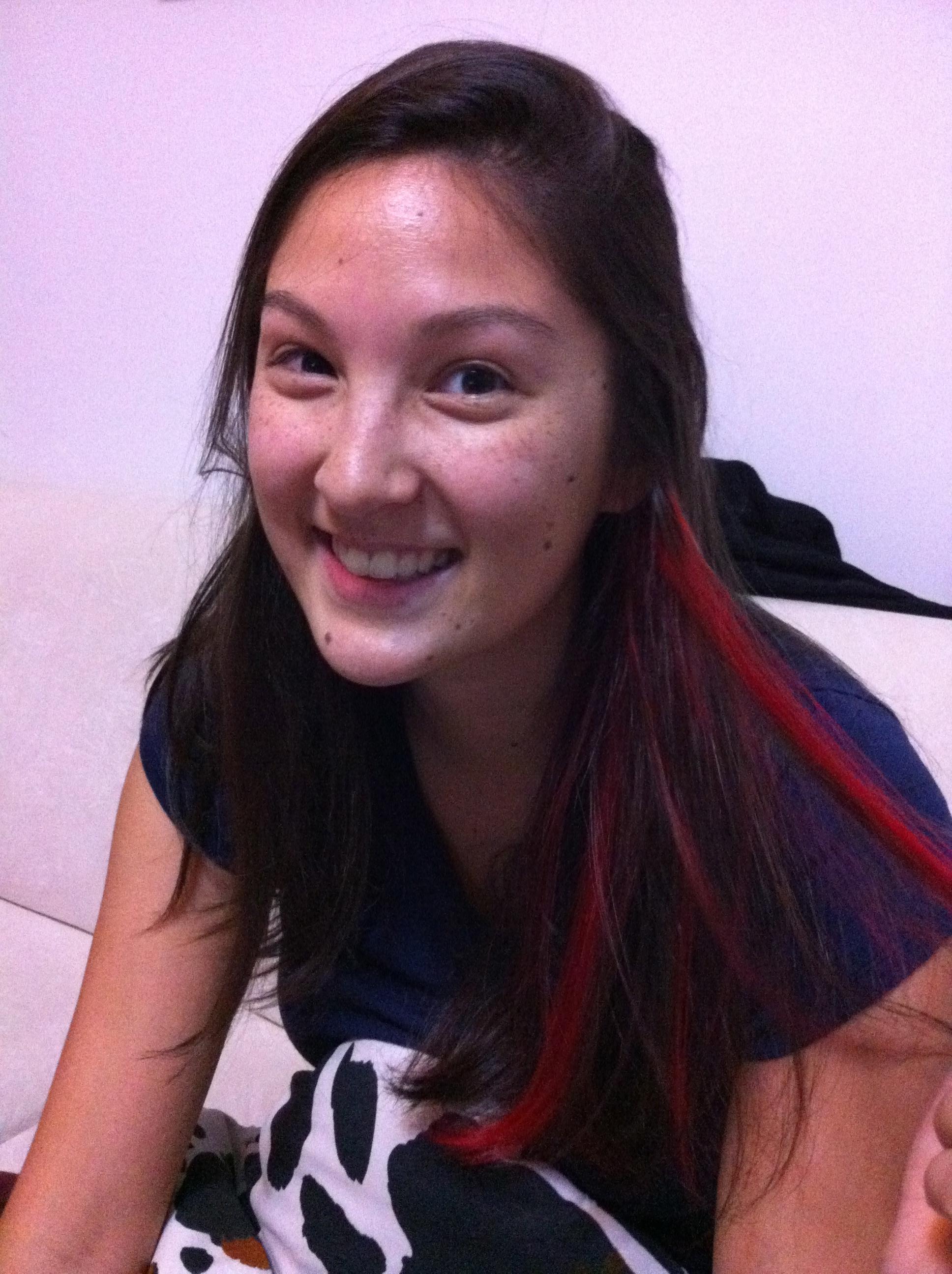Eggplant Hair Color With Highlights A new hair color!
